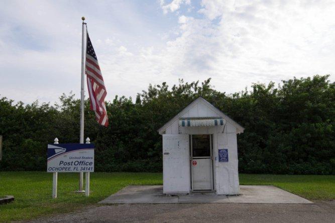 Ochopee postal office