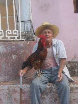 L'uomo col gallo