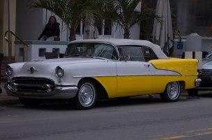un'auto cubana a Miami