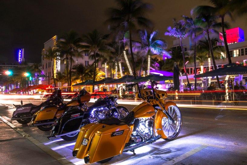 Moto in Ocean Drive