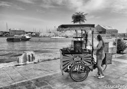 La venditrice di caffe