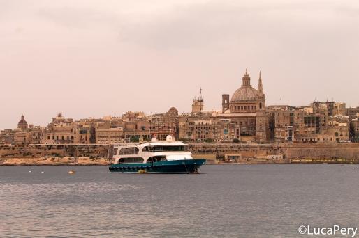 Vista di Valletta