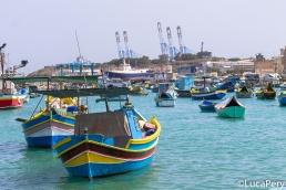 Barche di Marsaxlokk