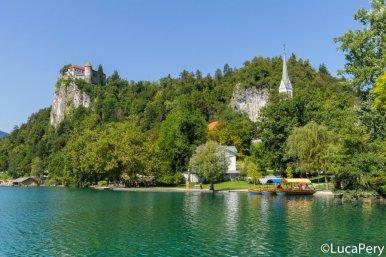 Lago di Bled e barche